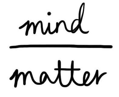 Image result for mind over matter symbol
